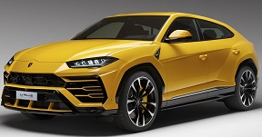 Lamborghini Urus achteras (2018 - )