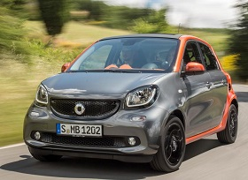 Smart Forfour Back (2014 - )