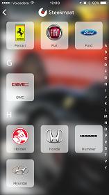 Steekmaat App